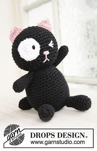 Cat by Drops Design. FREE PATTERN 5/14.