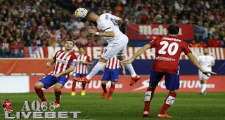 Agen Piala Eropa - Derby Madrid Berakhir Seri