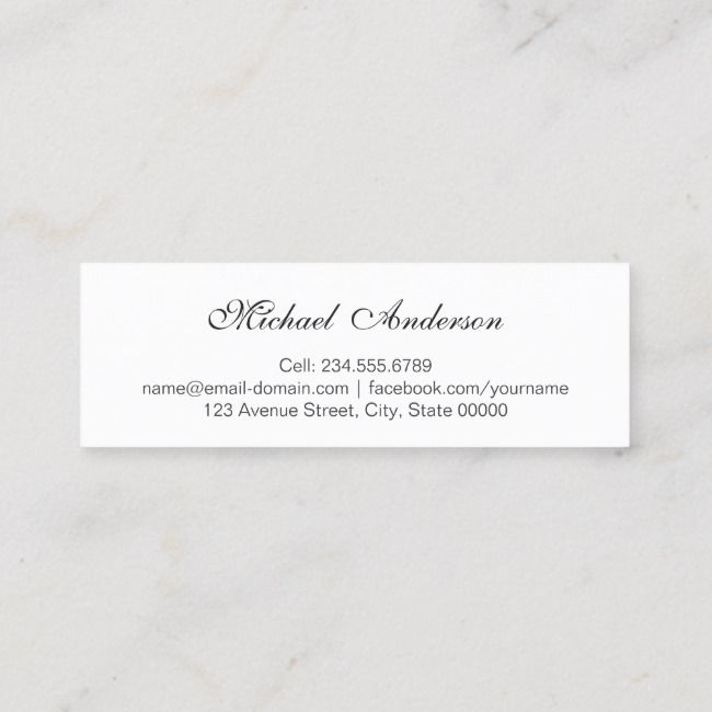 Create Your Own Calling Card Zazzle Com Calling Cards Business Card Size Standard Business Card Size