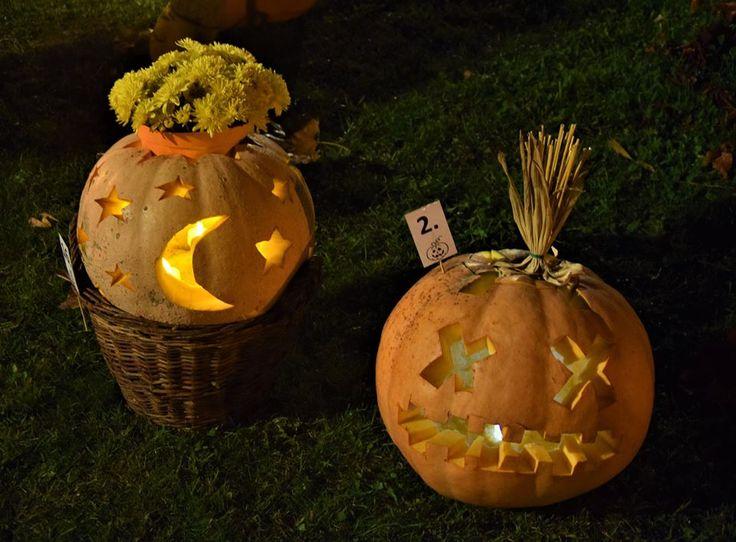 pumpkin lantern idea star moon and xx