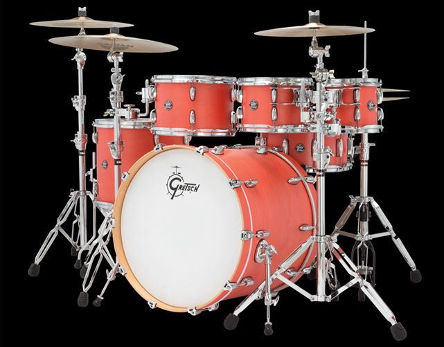 Marquee Series Drums & Drum Sets (Gretsch Drums) Sizes, Colors, Features and Photos