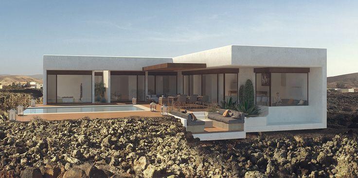 Villa Sabina 206 m2 4D Lajares, Fuerteventura