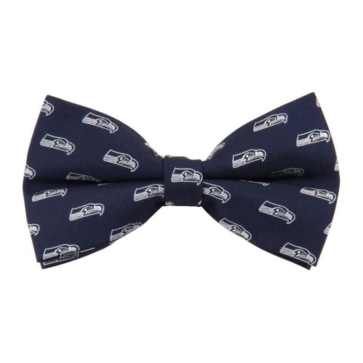 Seattle Seahawks NFL Bow Tie (Repeat)