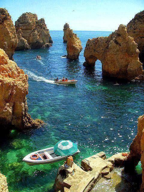 I'm Portuguese... I need to go!!!! Algarve Coast, Portugal