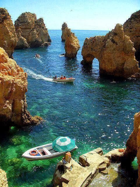 Algarve Coast, Portugal. Yet another place I would love to return to but may never leave. ~ <3 ~