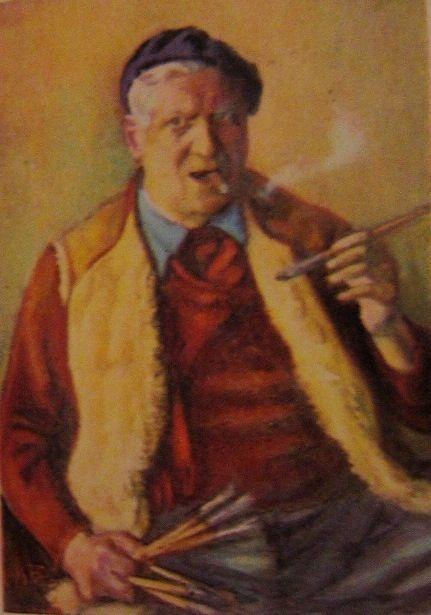 Iosif Iser,self portrait.