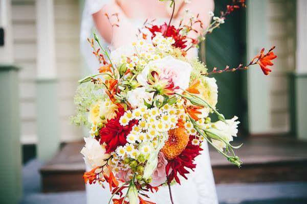 Messy flowers