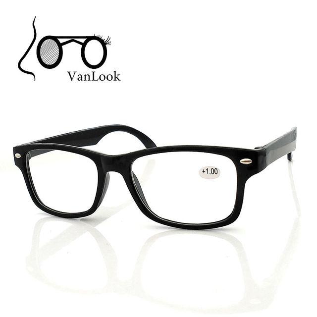 Reading Glasses Women Men Oculos de Grau Black Glass Eyewear for Farsightedness +1.00 +1.50 +2.00 +2.50 +3.00 +3.50 +4.00