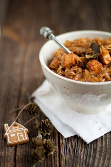 BIGOS- polish traditional cabbage dish- best slowly cook for whole day. by Cintamani ;-), via Flickr