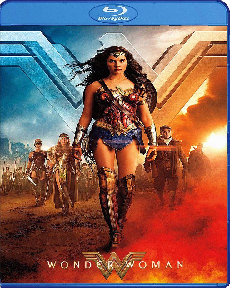 Wonder Woman [2017] Blu-ray Cover