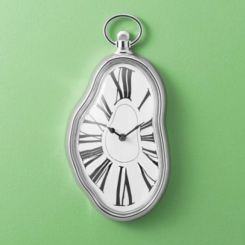 Reloj de pared derretido al estilo Dalí / Melting time Wall Clock in Dali style · Tienda de Decoración y Regalos originales UniversOriginal
