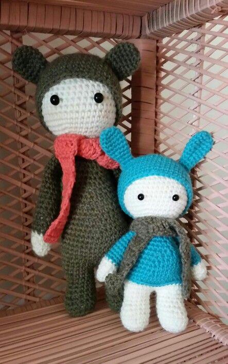 Lalylala mod  /based on Lalylala crochet pattern