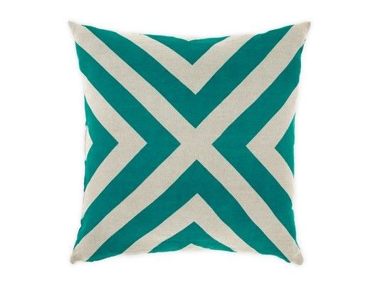 This stunning Gatsby Cushion in Teal was seen in Brad and Dale's upstairs bedroom on The Block Fans Vs Faves, available at Forty Winks.