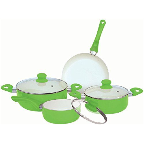 Home Basics CS00789 7-Piece Ceramic Cookware Set, Green Home Basics http://www.amazon.com/dp/B00C3MIQG8/ref=cm_sw_r_pi_dp_iE3Hvb1AVZ164
