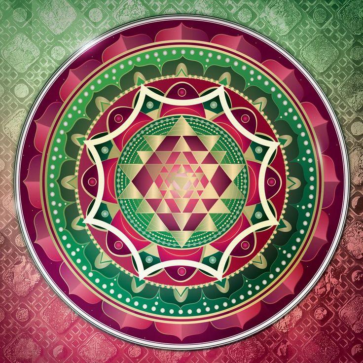 Sri Yantra Mandala - Freedom Flow FengShui Webshop by Skultéty Andrea