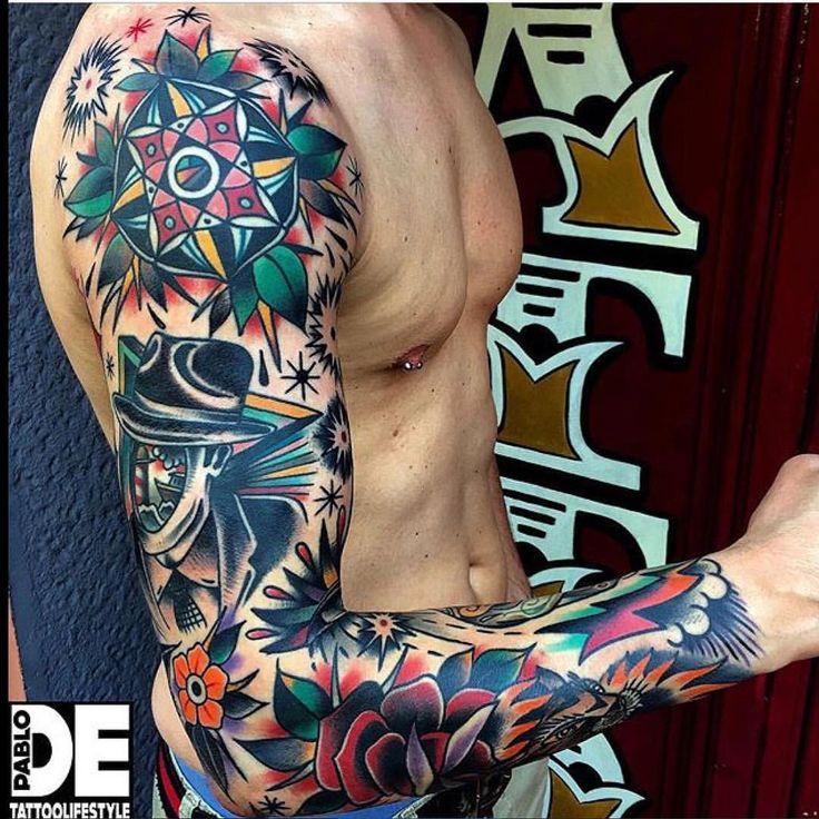 """3,362 curtidas, 46 comentários - @thebesttattooartists no Instagram: """"#artist @pablo_de_tattoolifestyle @pablo_de_tattoolifestyle @pablo_de_tattoolifestyle , Italy …"""""""
