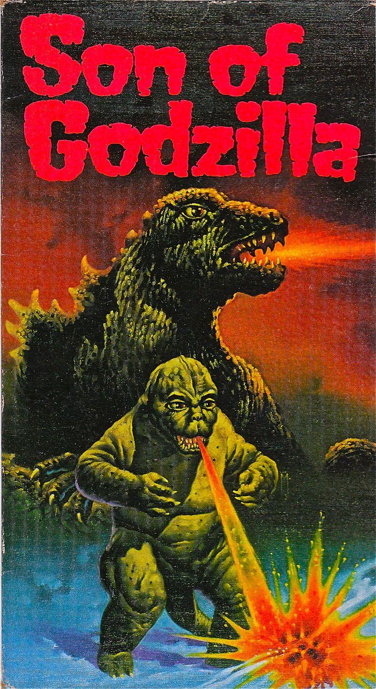 SON OF GODZILLA VIDEO BOX COVER