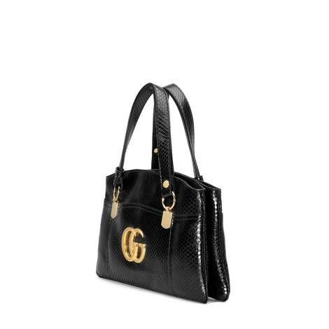 a7ceef4042 Arli large python top handle bag