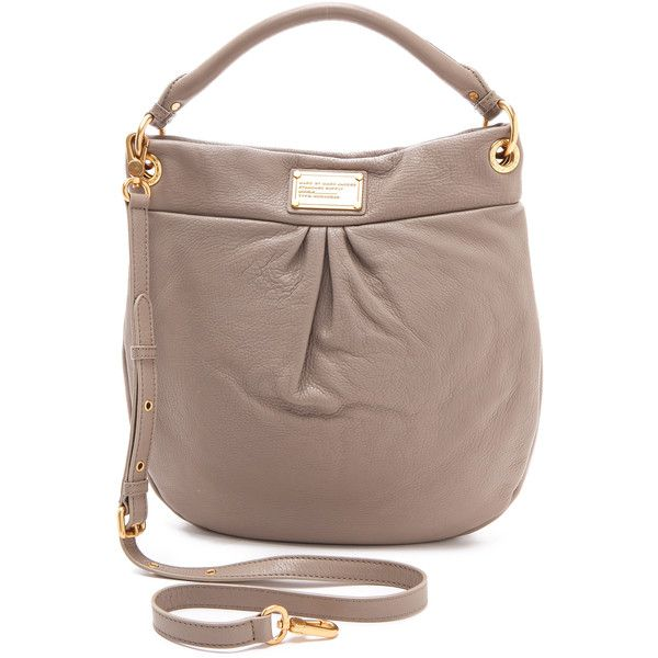 top handle bags: Marc by Marc Jacobs Women's Classic Q Hillier Hobo,  Cement, One Size