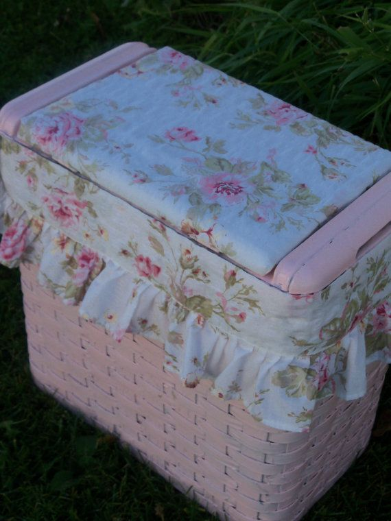 shabby chic clothes hamper