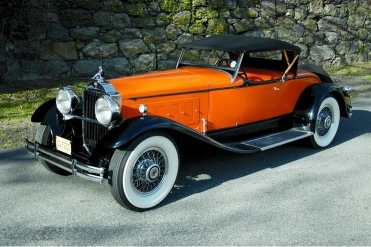 1930 Packard Speedster Roadster stuns with its good looks and slays with its 100…