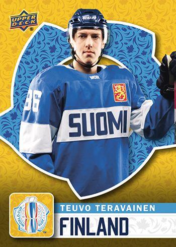 2016 Upper Deck - World Cup of Hockey Teuvo Teravainen