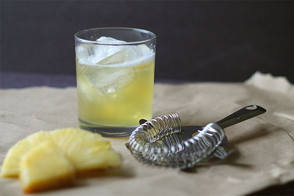 The Pineapple Haze Cocktail (aka Havana Especial) from Squirrelly Minds