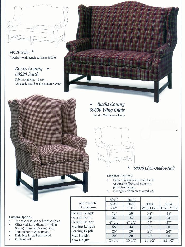 Carolina Country Furniture  Bucks County Series
