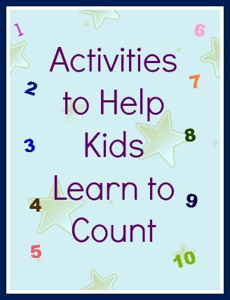 Give your kids a head start in school by trying out these great everyday activities that help your kids learn how to count.