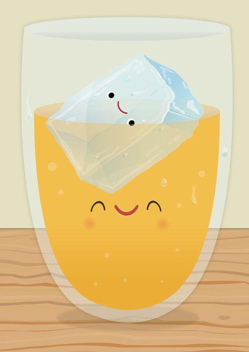 Ice Drink - Aaron Miller Illustration