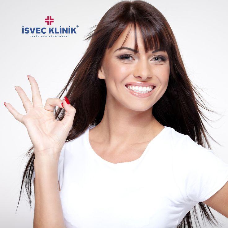 Zirkonyum Tedavisi ile bembeyaz gülümseme #diş #tooth #isveçklinik #zirkonyum #implant #sağlık #gülümseme