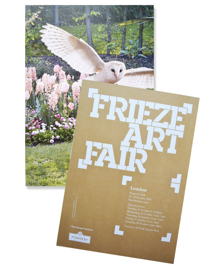Frieze Art Fair, Preview Invite