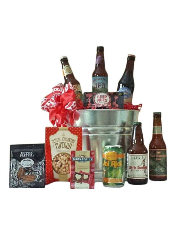 best 25 beer gift baskets ideas on pinterest birthday. Black Bedroom Furniture Sets. Home Design Ideas