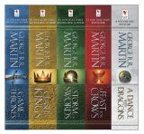 George R. R. Martin's A Game of Thrones 5-Book Boxed Set (Song of Ice and Fire Series): A Game of Thrones, A Clash of Kings, A Storm of Swords, A Feast ... Dance with Dragons (A Song of Ice and Fire) Audiobook -