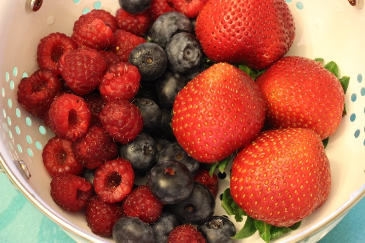 Gorgeous summer berries!