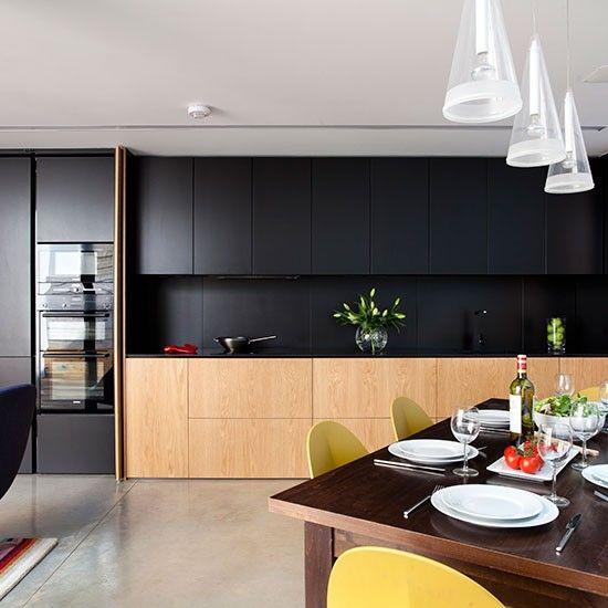 Kitchen units | Sleek and innovative kitchen | Kitchen tour | PHOTO GALLERY | Beautiful Kitchens | Housetohome.co.uk