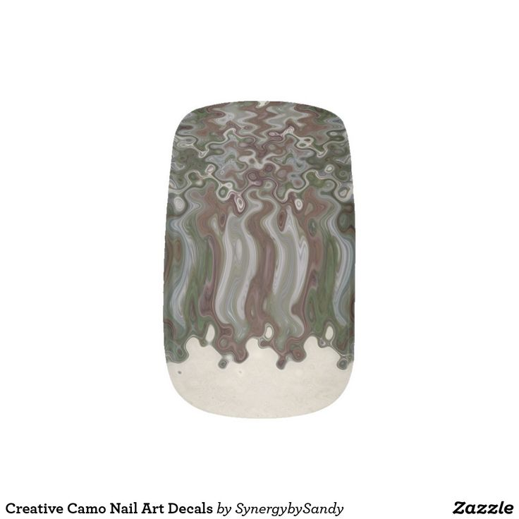 Creative Camo Nail Art Decals