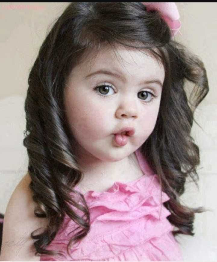 Baby Hair Style Images Samiksha11 Sharechat Funny Romantic Cute Baby Girl Wallpaper Baby Hairstyles Cute Baby Girl