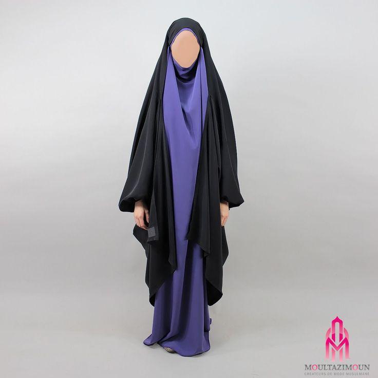 Gilet Jilbab Mekkah Noir - Al Moultazimoun / #Overhead #khimar #jilbab #cardigan #jilbab #best #abaya #modestfashion #modestwear #muslimwear #jilbabi #outfit #hijabi #hijabista #long #dress #mode #musulmane #clothing