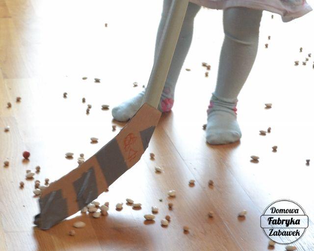 Hokej w domu, diy dla dzieci