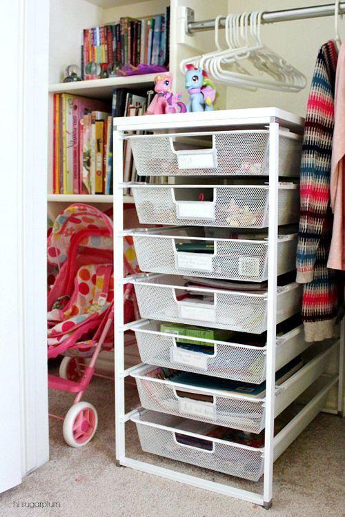 12 UHeart Organizing: Organizing With Kids   Creating A Playful Closet