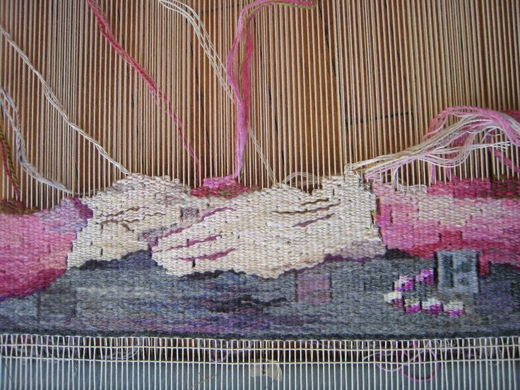 Growing a Tapestry: Weaving Big. Ruth Manning, tapestry