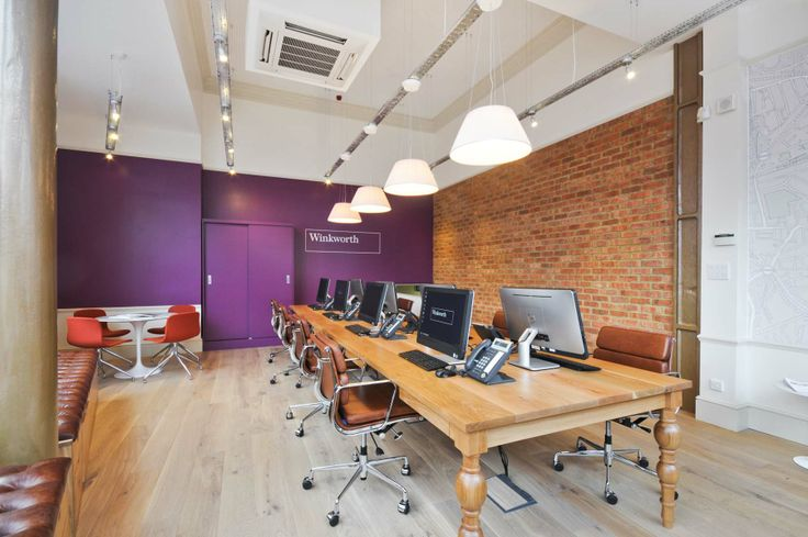 Winkworth Estate Agents - Shepherds Bush office refurbishment by Turnerbates Design  Architecture