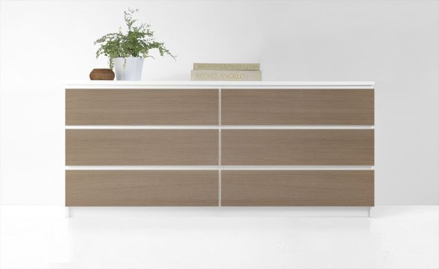 PANYL for IKEA Malm Dresser | Get the look you want for less with PANYL self-adhesive finishes
