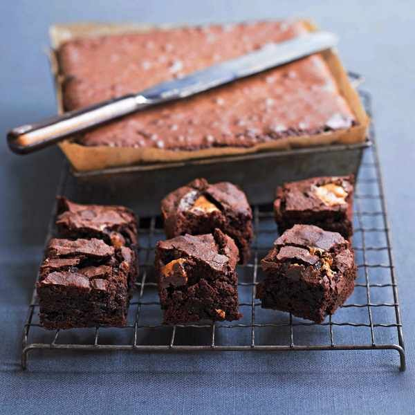 Best ever classic chocolate brownies