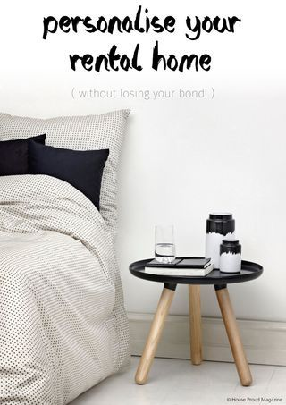 Personalise your rental