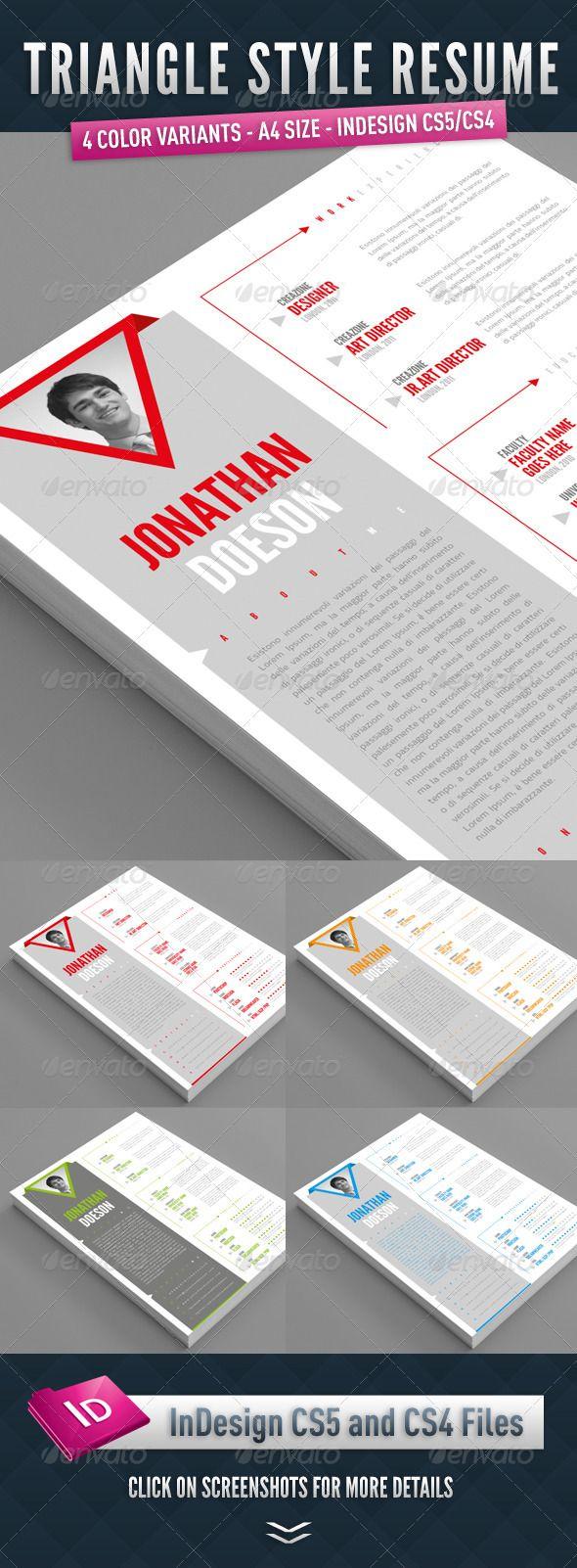 72 best Design: Résumés images on Pinterest | Page layout, Resume ...