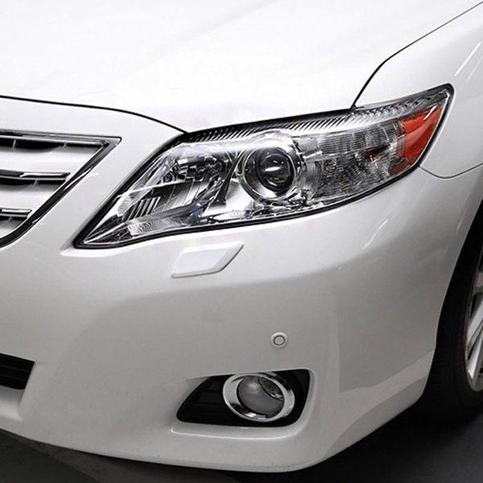 BRENTHON Car Bumper Detail Tip Pair Black White Chrome for Toyota Camry 2010