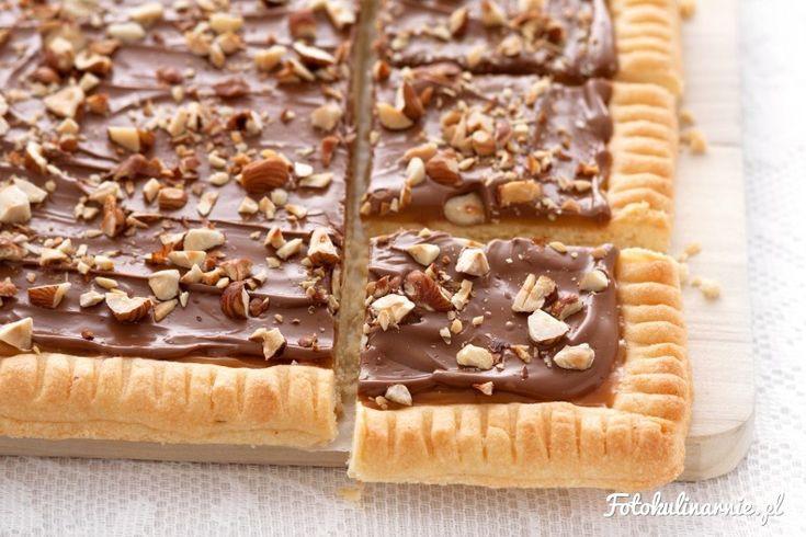 Мазурек kajmakowo-шоколад с ядки