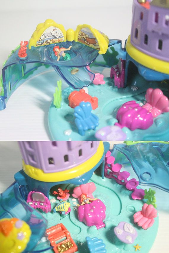 Polly Pocket Disney's The Little Mermaid Under by FHKsamadsStashes
